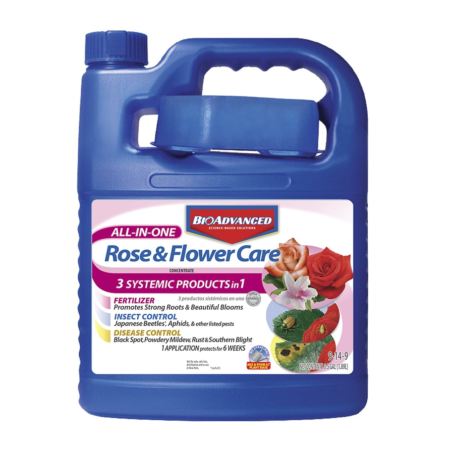 BAYER ADVANCED 64 fl oz Rose and Flower Fertilizer (9-14-9)