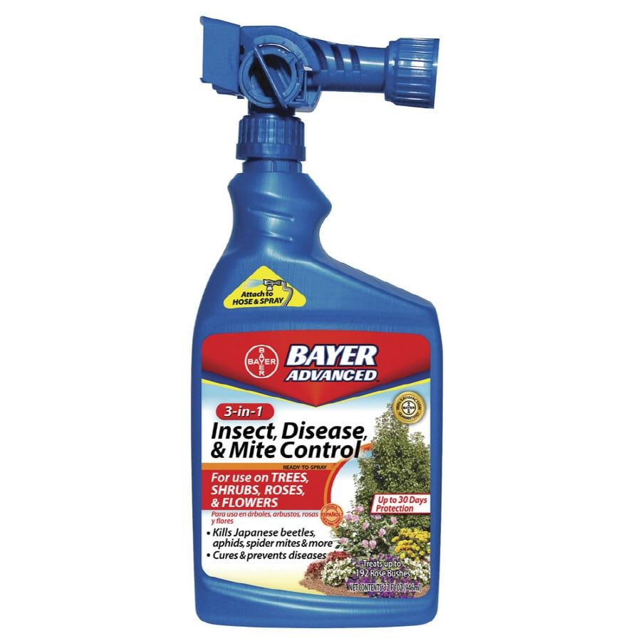 BAYER ADVANCED 3-In-1 Insect, Disease & Mite 32-fl oz Garden Insect Killer