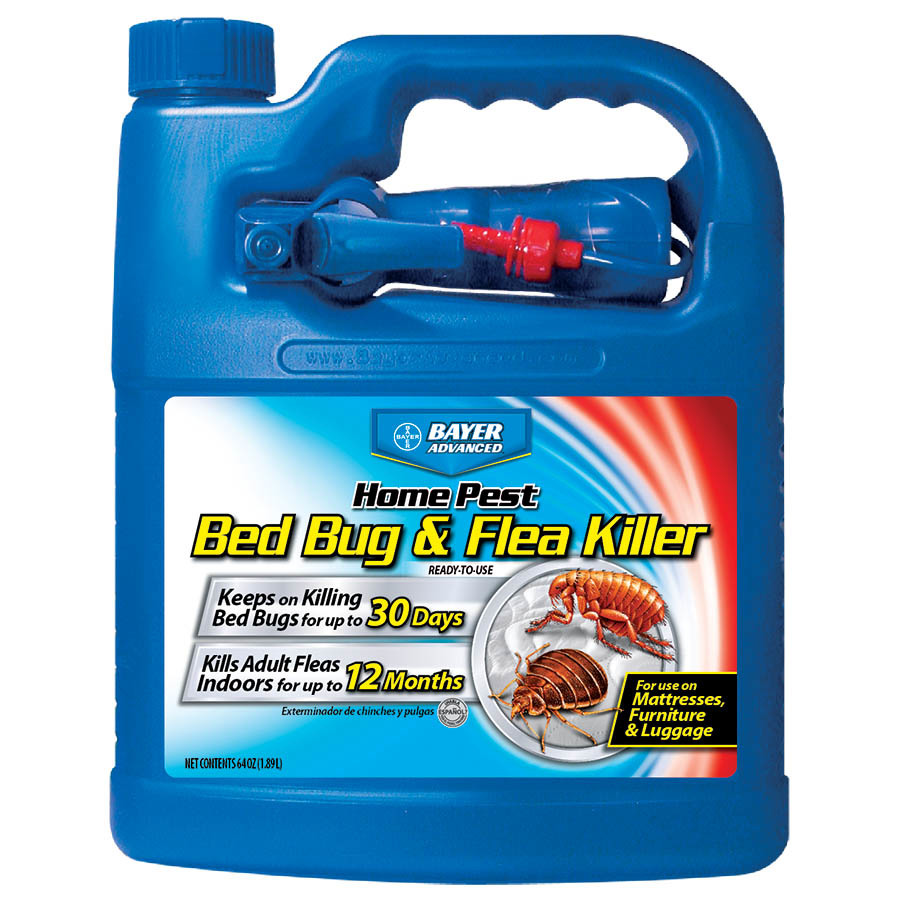 Bayer Advanced Bed Bug And Flea Killer 64 Fl Oz Insect