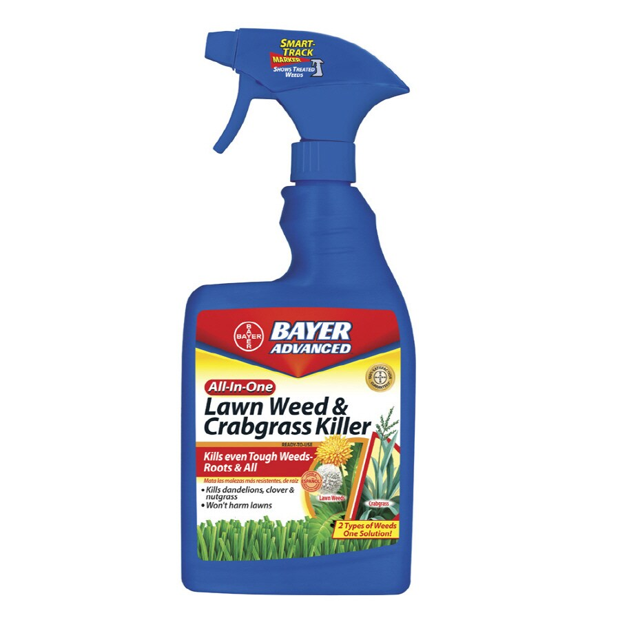 BAYER ADVANCED All-In-One Lawn Weed & Crabgrass Killer 24-fl oz Weed Killer Plus Crabgrass Control