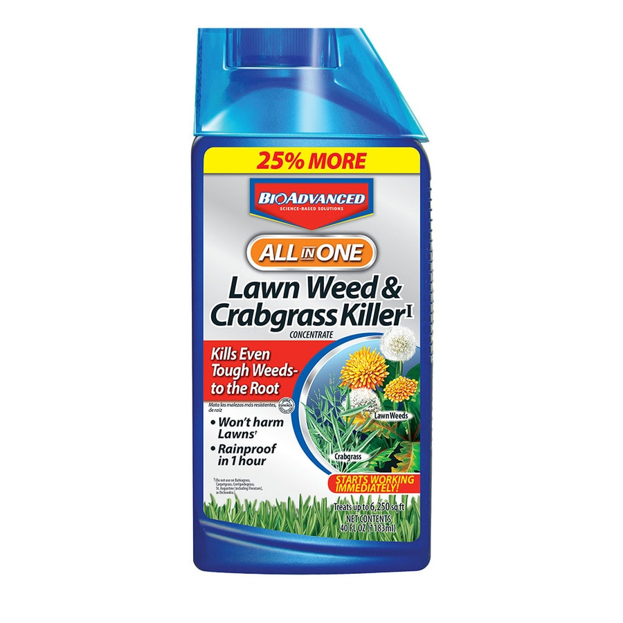 BAYER ADVANCED All-In-One Lawn Weed & Crabgrass Killer 32-fl oz Weed Killer Plus Crabgrass Control