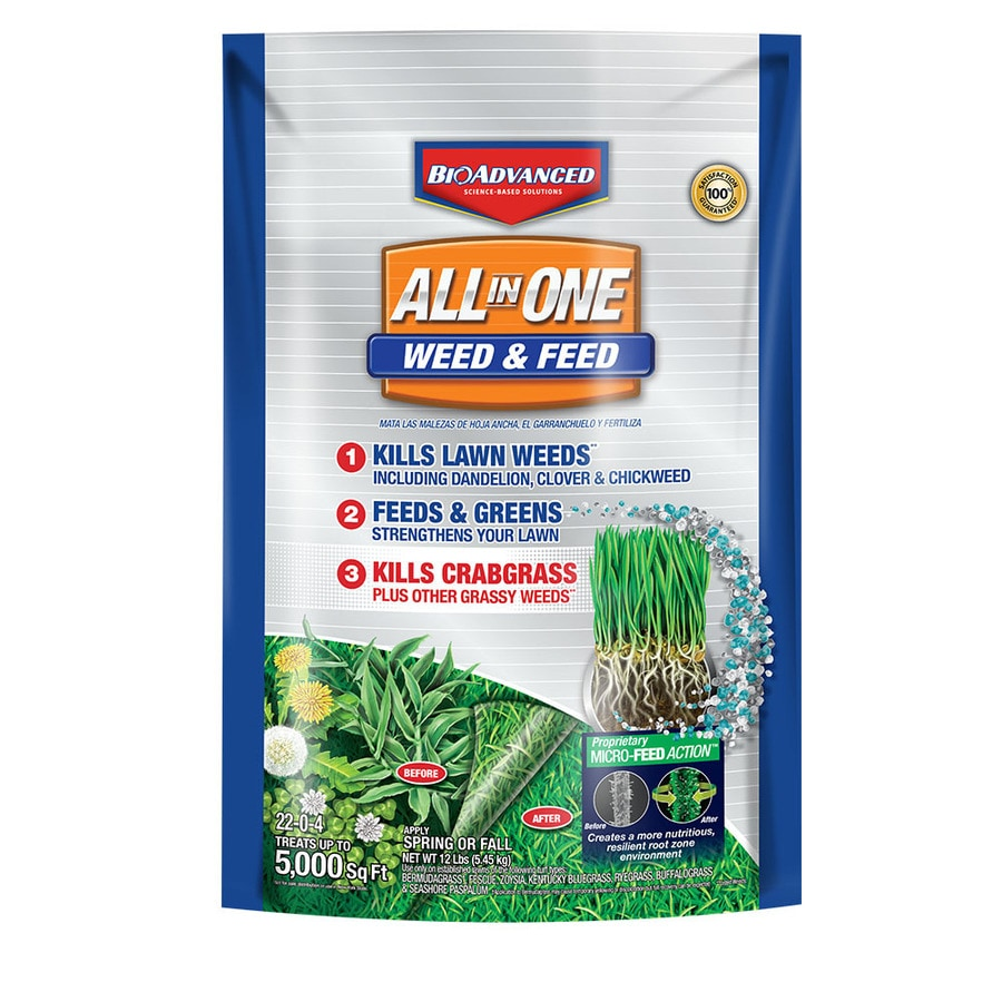 BAYER ADVANCED All In One Weed And Feed (22 0 4