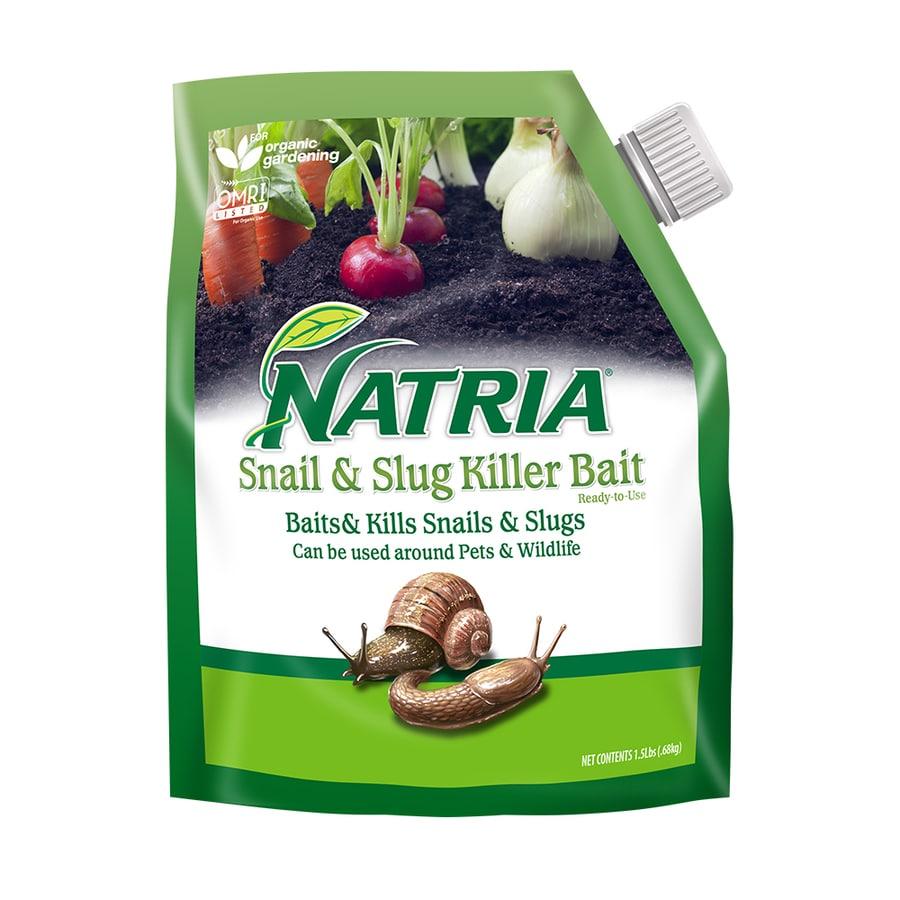 BAYER ADVANCED Natria 1.5-lb Organic Snail and Slug Killer