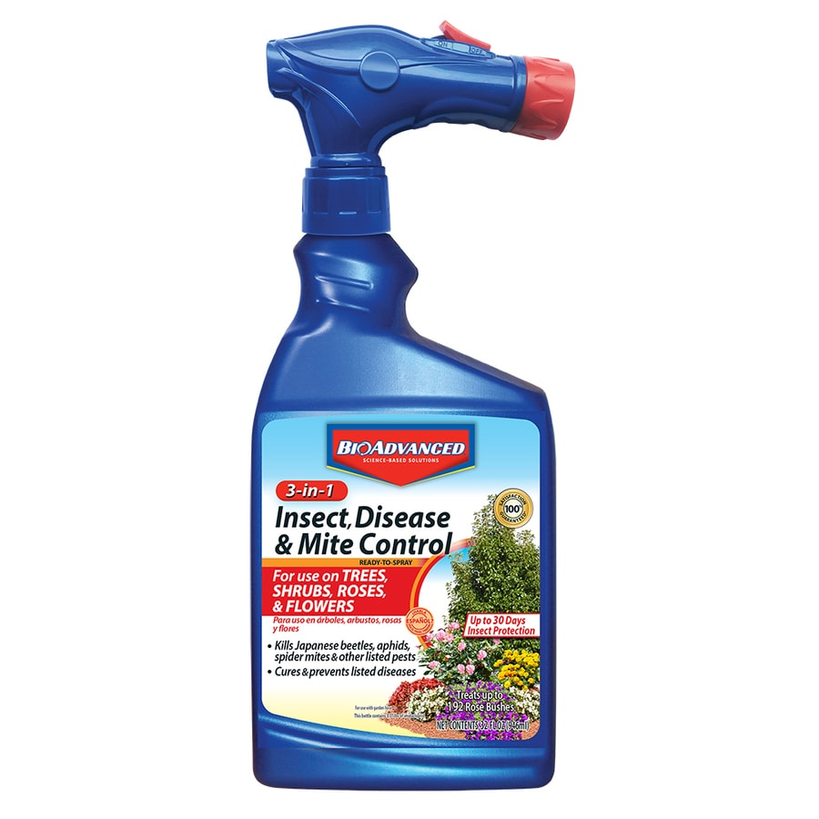 BAYER ADVANCED 3 in 1 Insect, Disease and Mite Control 32oz 32-fl oz Garden Insect Killer
