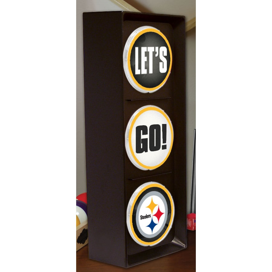 The Memory Company 16-in Sports Pittsburgh Steelers Light