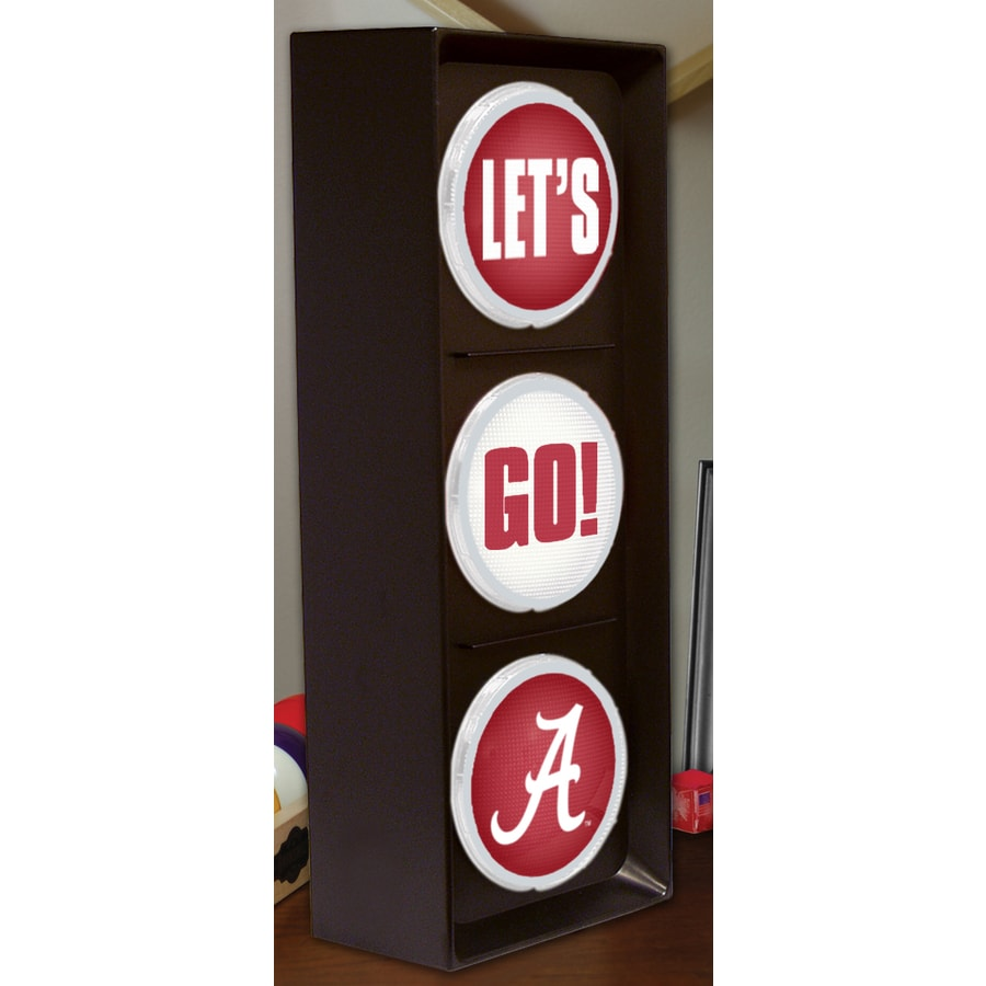 The Memory Company 16-in Sports Alabama Crimson Tide Light