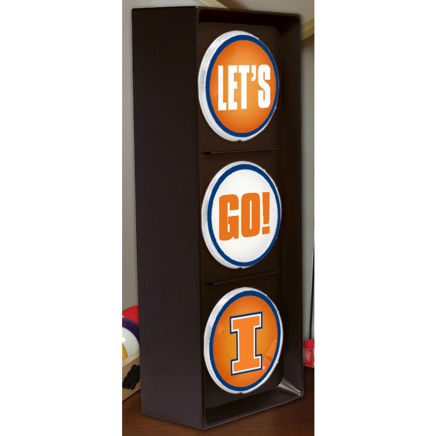 The Memory Company 16-in Sports Illinois Fighting Illini Light