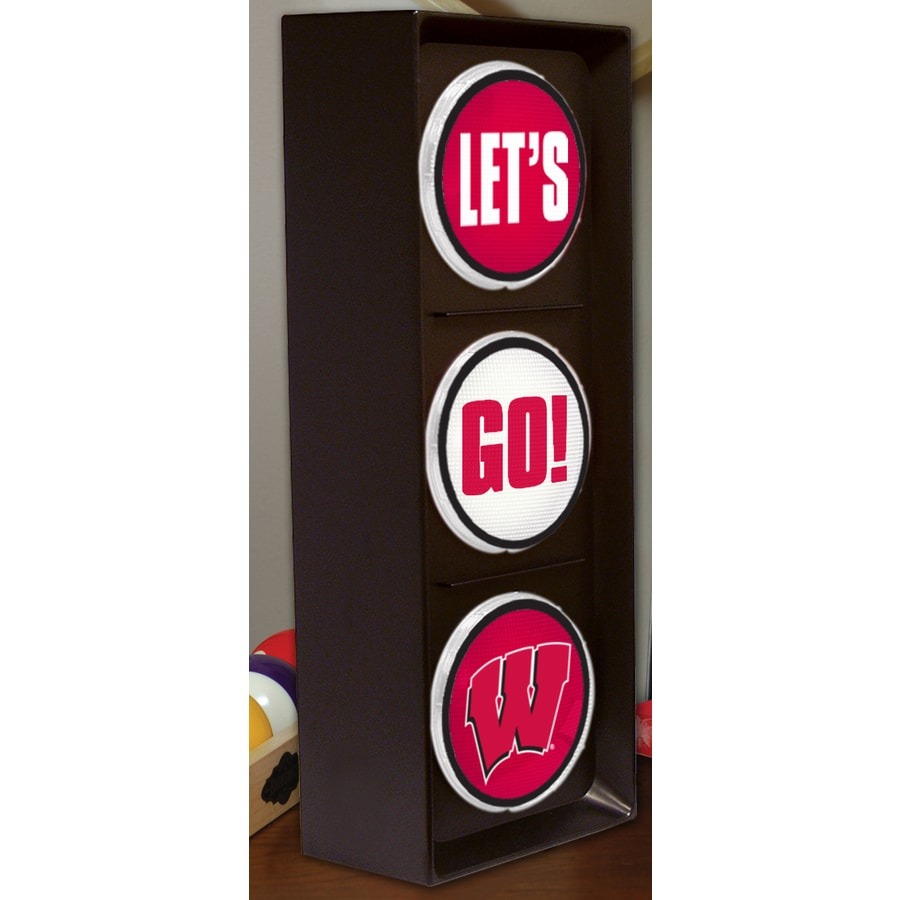 The Memory Company 16-in Sports Wisconsin Badgers Light