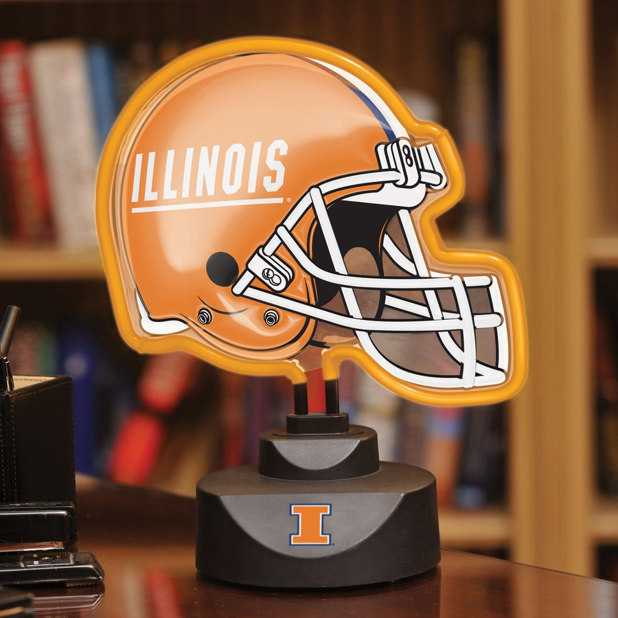 The Memory Company 12-in Sports Illinois Fighting Illini Light