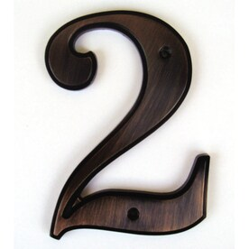 Shop House Letters Numbers At Lowescom - 10 inch metal house numbers