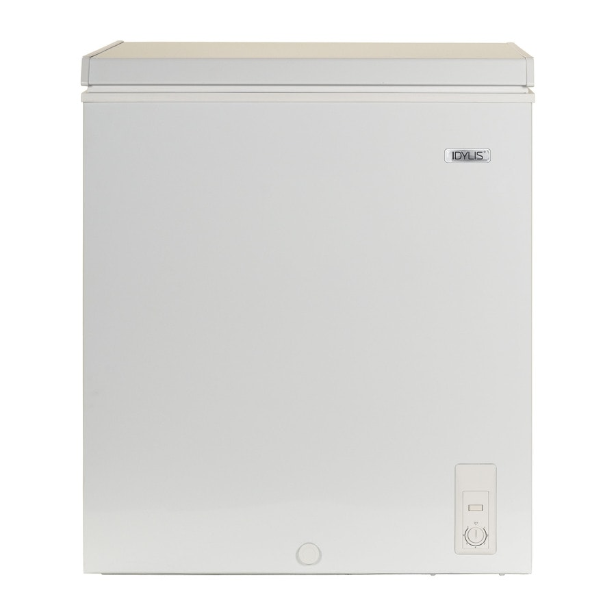 Idylis 5-cu ft Chest Freezer (White)