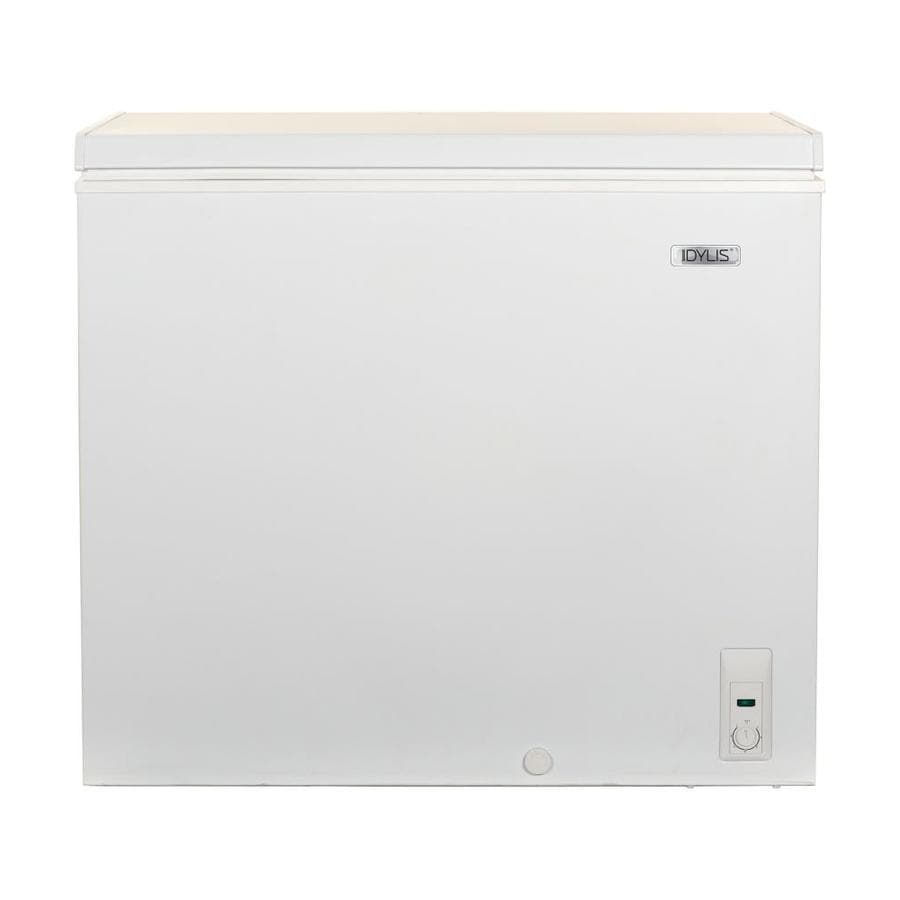 Idylis 7.1-cu ft Chest Freezer (White)