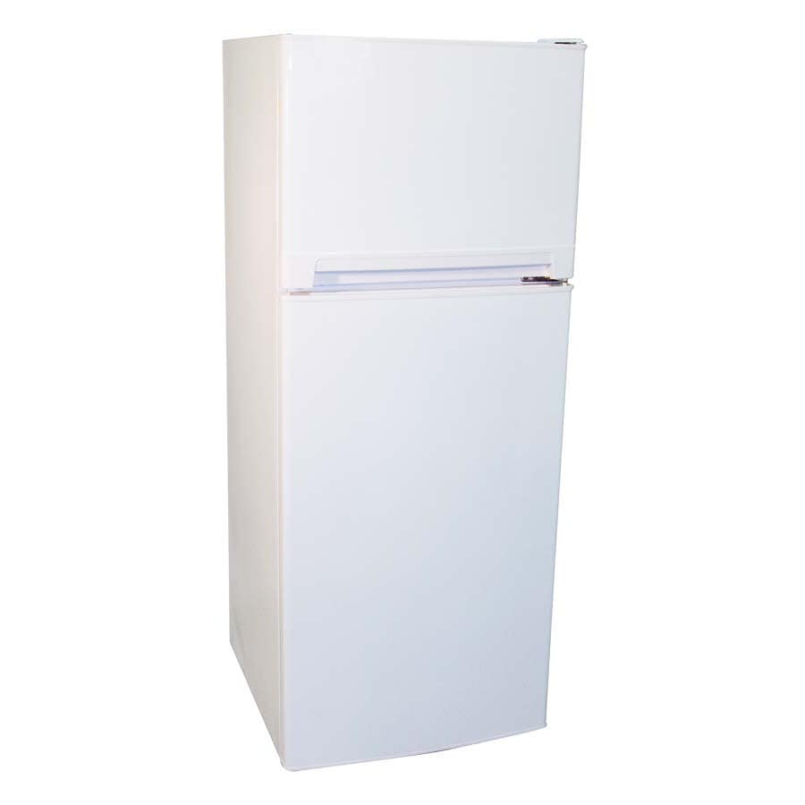 Haier 8.1-cu ft Top-Freezer Refrigerator (White)