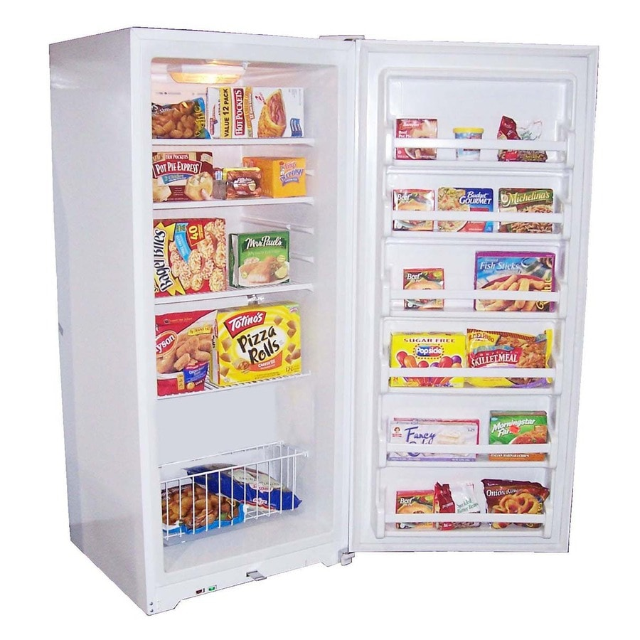haier 205 cu ft upright freezer white