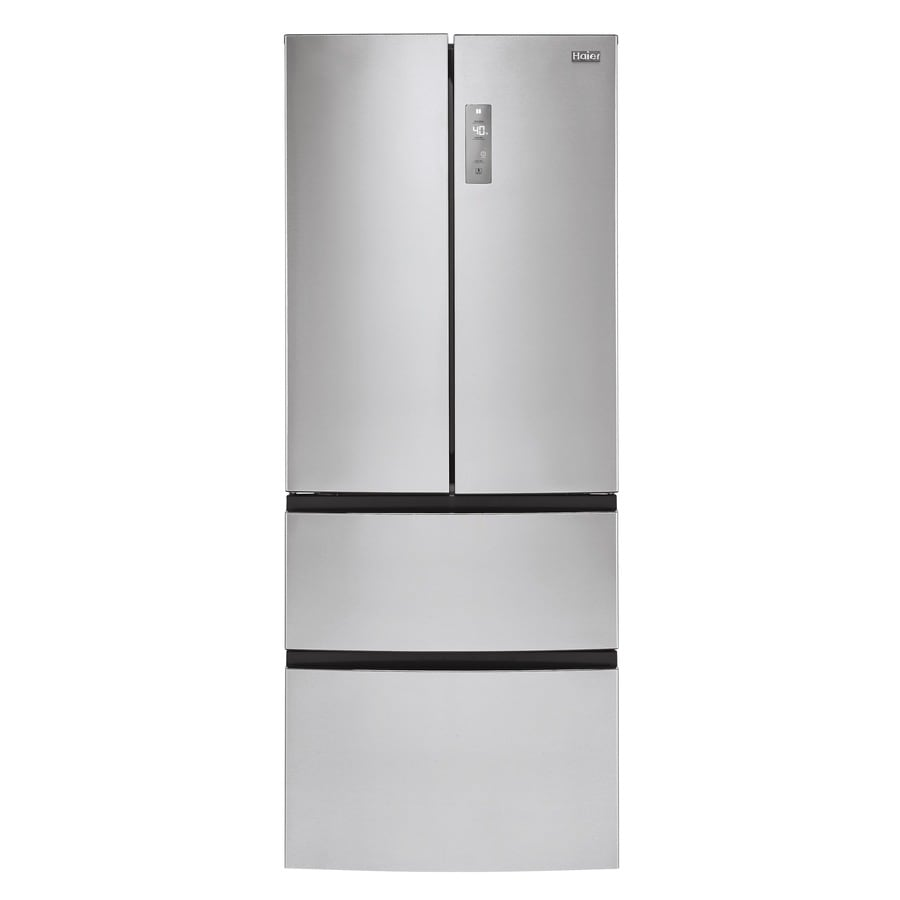 Haier 15-cu ft 4-Door Counter-Depth French Door Refrigerator (Stainless