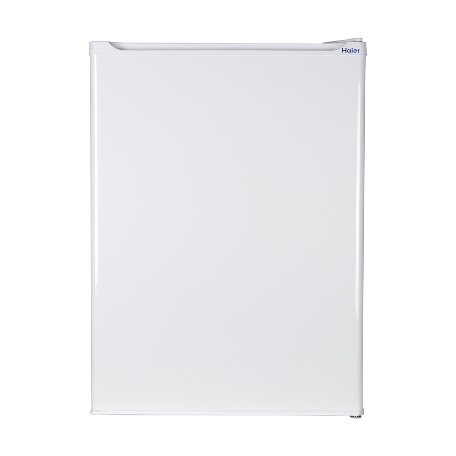 Haier 2.7-cu ft Freestanding Compact Refrigerator Freezer Compartment (White) ENERGY STAR
