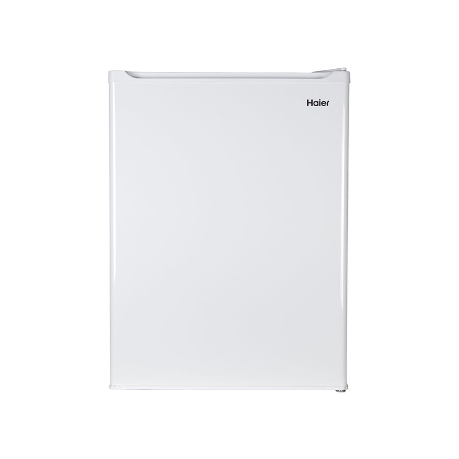 Haier 2.65-cu ft Freestanding Compact Refrigerator with Freezer Compartment (White)