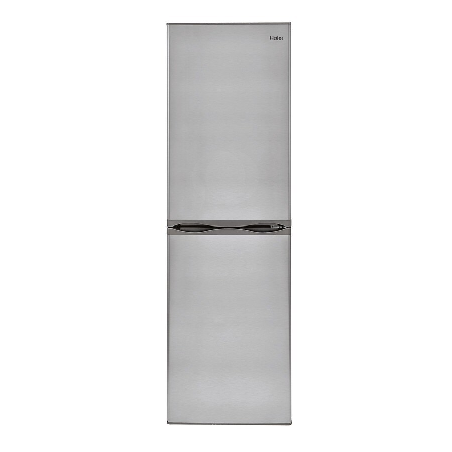 Haier 10.2-cu ft Bottom-Freezer Refrigerator (Stainless Steel)