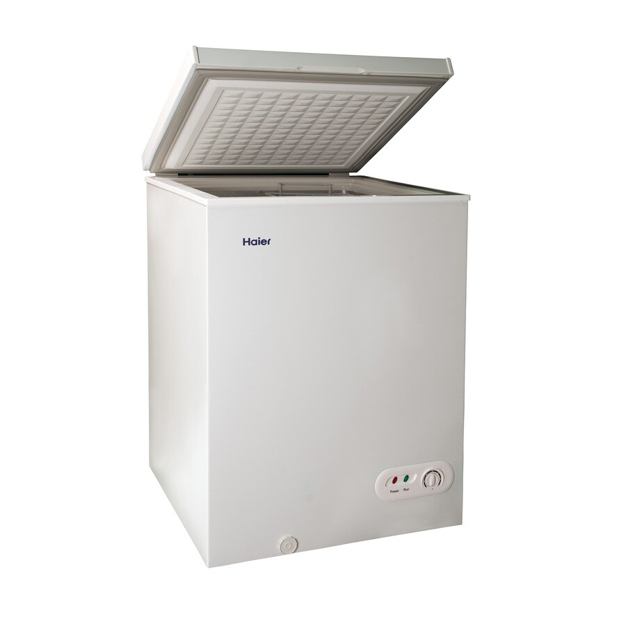 Shop Haier 35cu ft Chest Freezer White at Lowescom