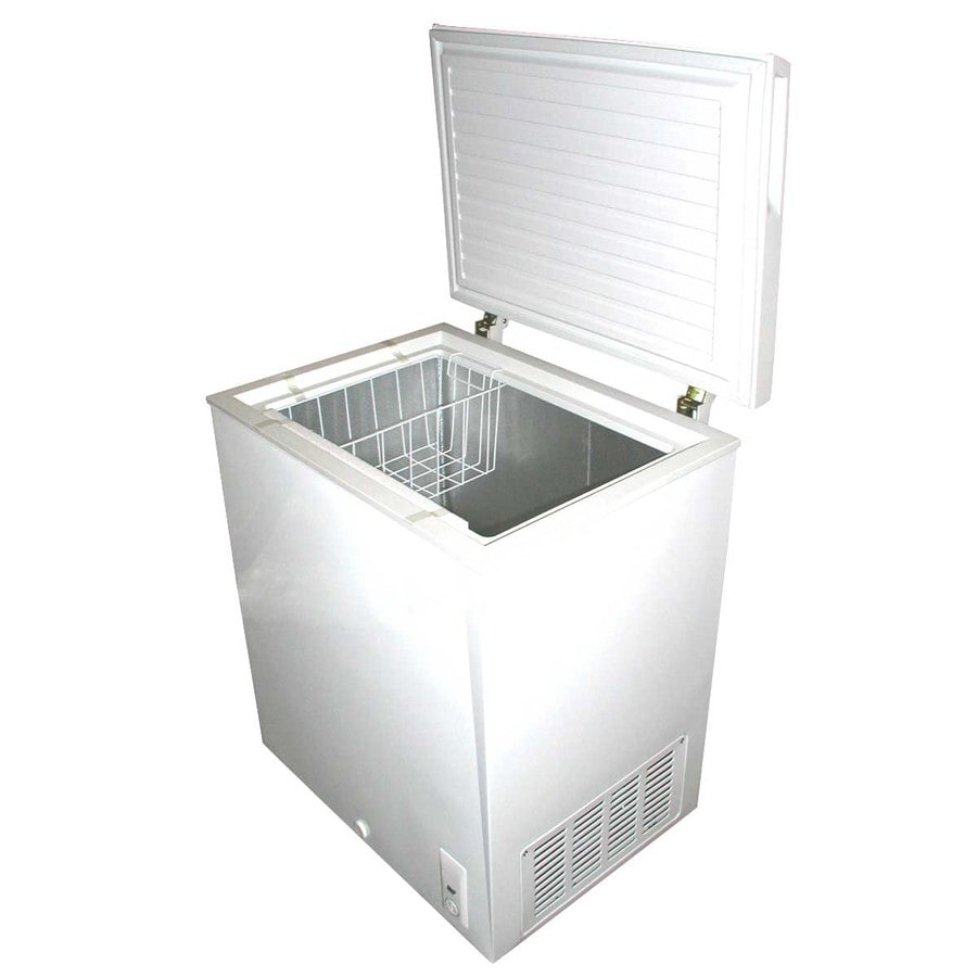 Shop Holiday 7cu ft Chest Freezer White at Lowescom