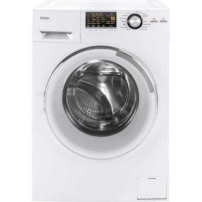 Haier 2-cu ft White Ventless Combination Washer and Dryer at ... on