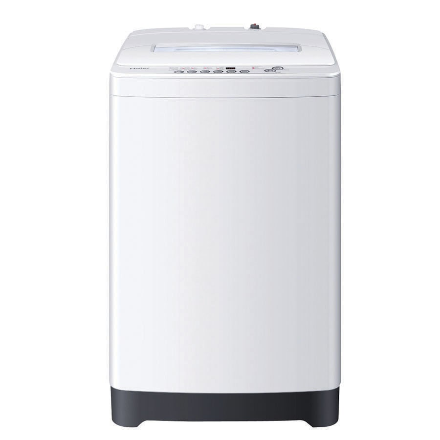 Haier 2.1-cu ft High-Efficiency Portable Top-Load Washer (White)