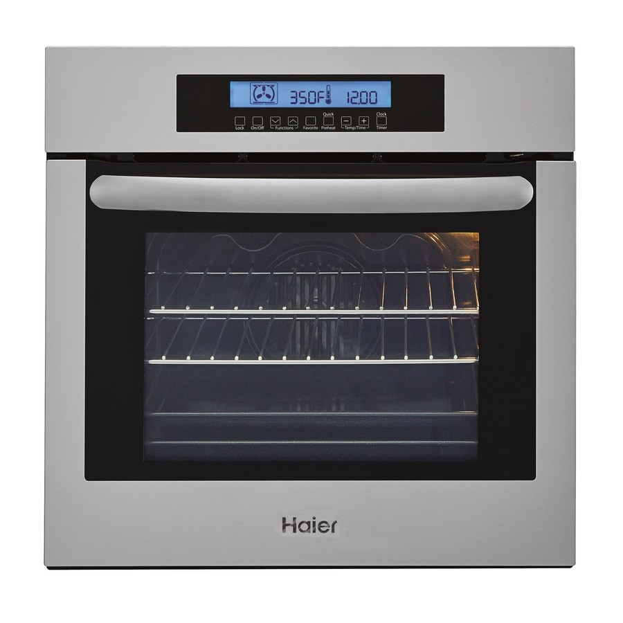 Haier Self Cleaning True Convection Single Electric Wall