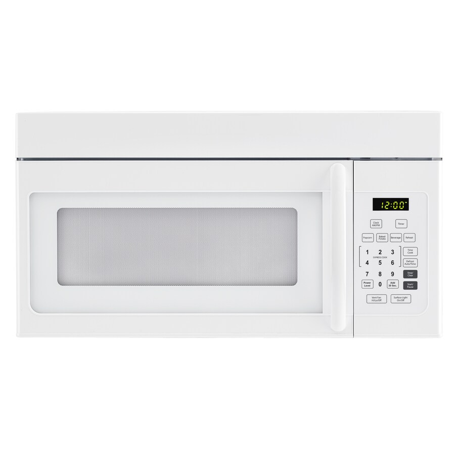 Haier 1.6-cu ft Over-The-Range Microwave (White) (Common: 30-in; Actual: 29.88-in)