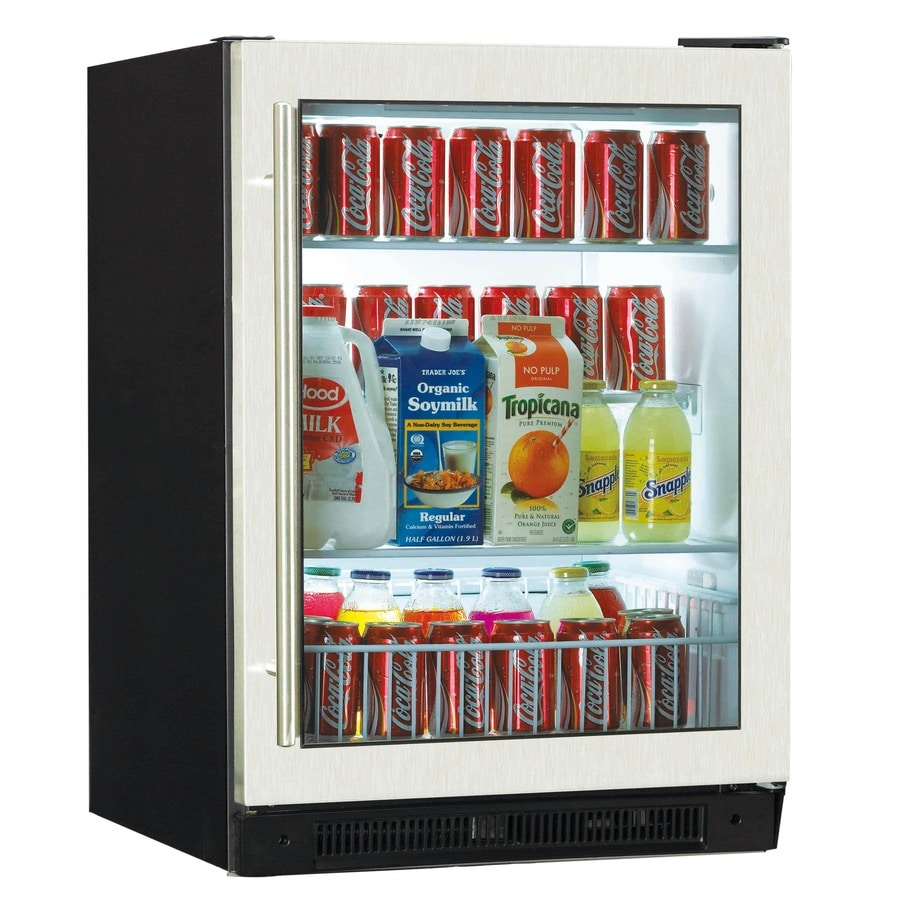 Haier 5.83-cu ft Stainless Steel Built-In Beverage Center