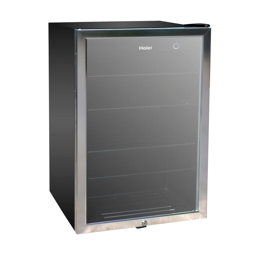 Haier 150 Can Capacity 4 36 Cu Ft Beverage Center At