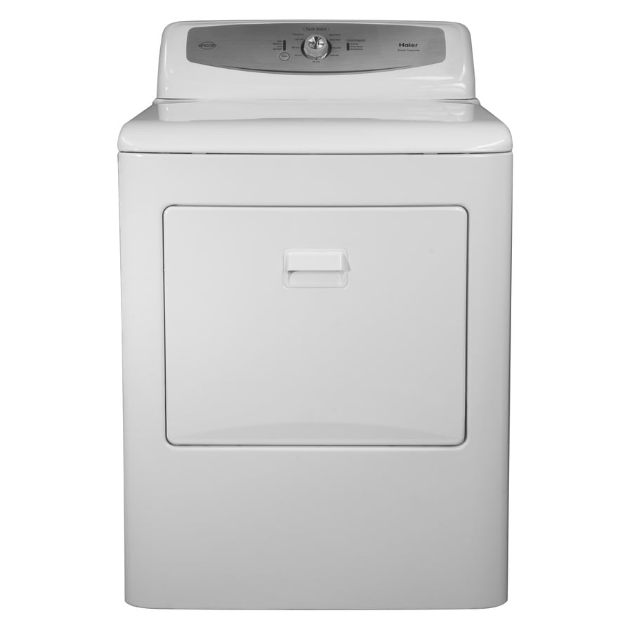 Haier 6.6-cu ft Electric Dryer (White)