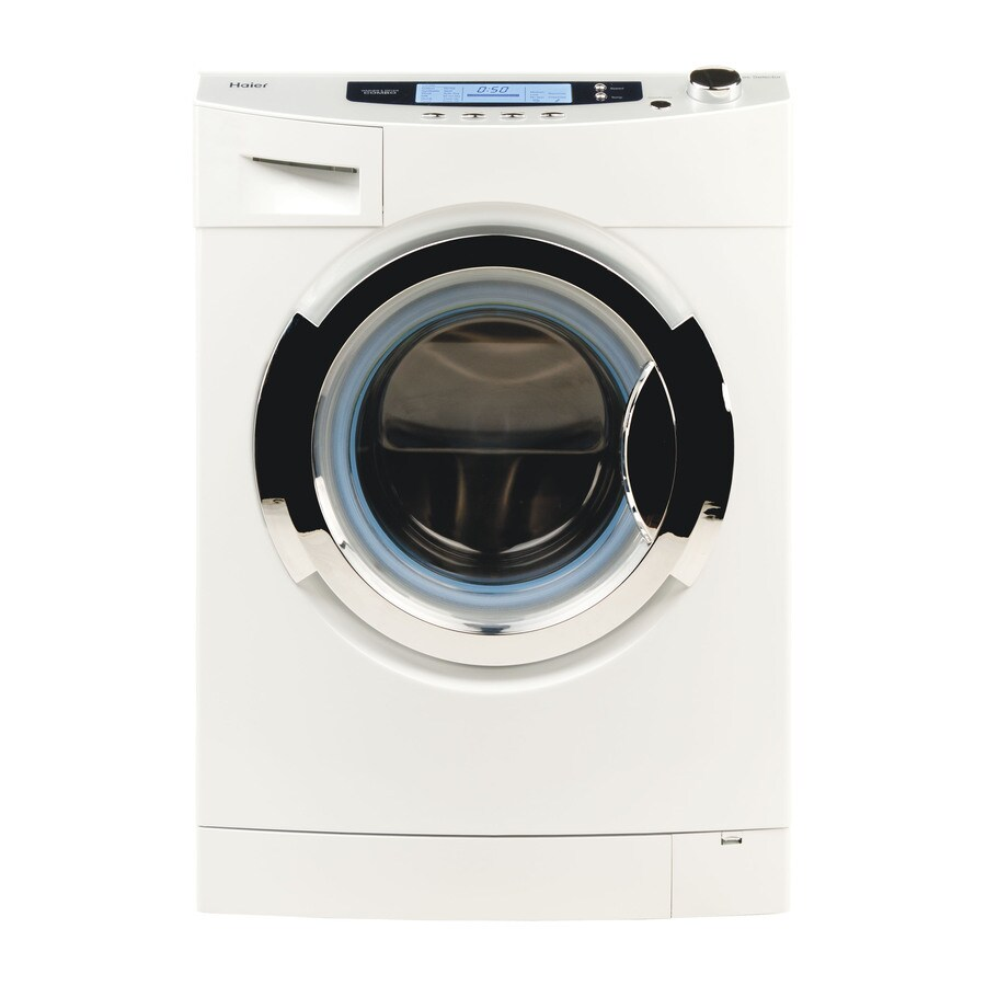 haier 18cu ft ventless combination washer and dryer white