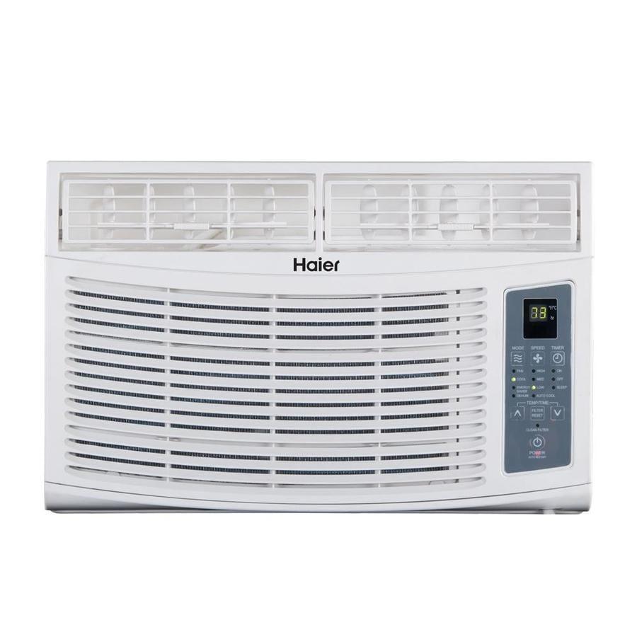Haier 250 Sq Ft Window Air Conditioner 115 Volt 6000 Btu