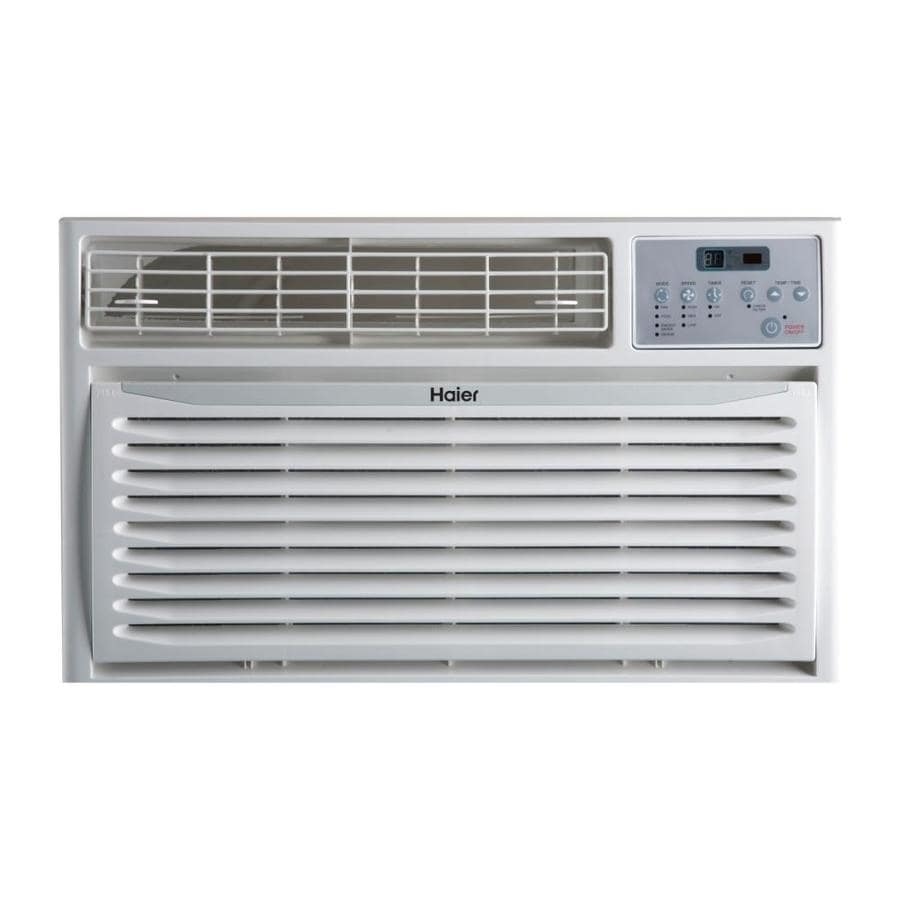 Haier 10000-BTU 450-sq ft 115-Volt Through-the-Wall Air ...
