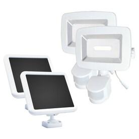 motion sensor flood lights at. Black Bedroom Furniture Sets. Home Design Ideas