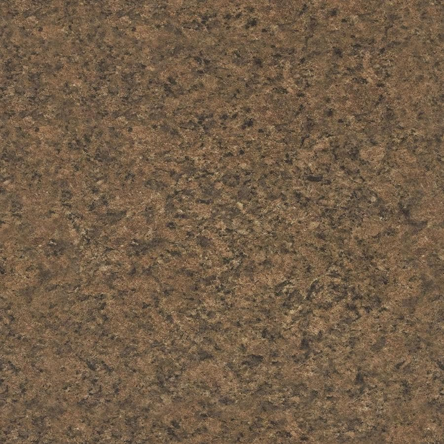 Shop wilsonart premium 48 in x 96 in milano amber laminate for Lowes countertops