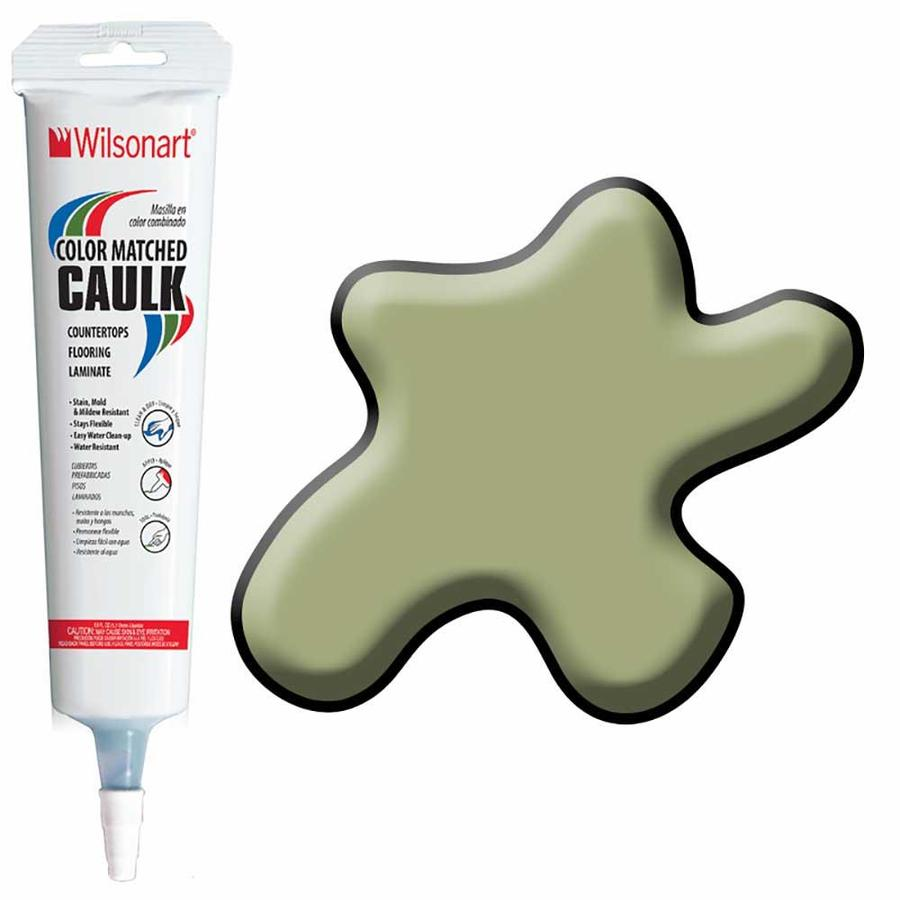 Wilsonart 5-oz Green Tigris Paintable Caulk