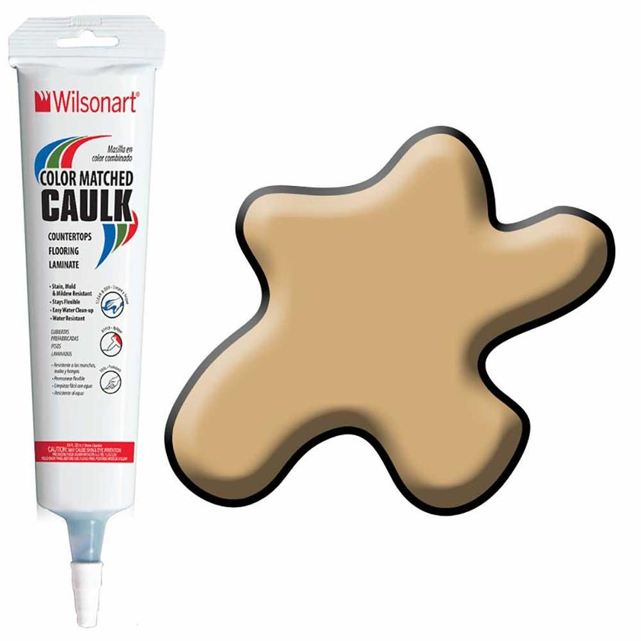 Wilsonart 5-oz Gold Alchemy Paintable Siliconized Acrylic Kitchen and Bathroom Caulk