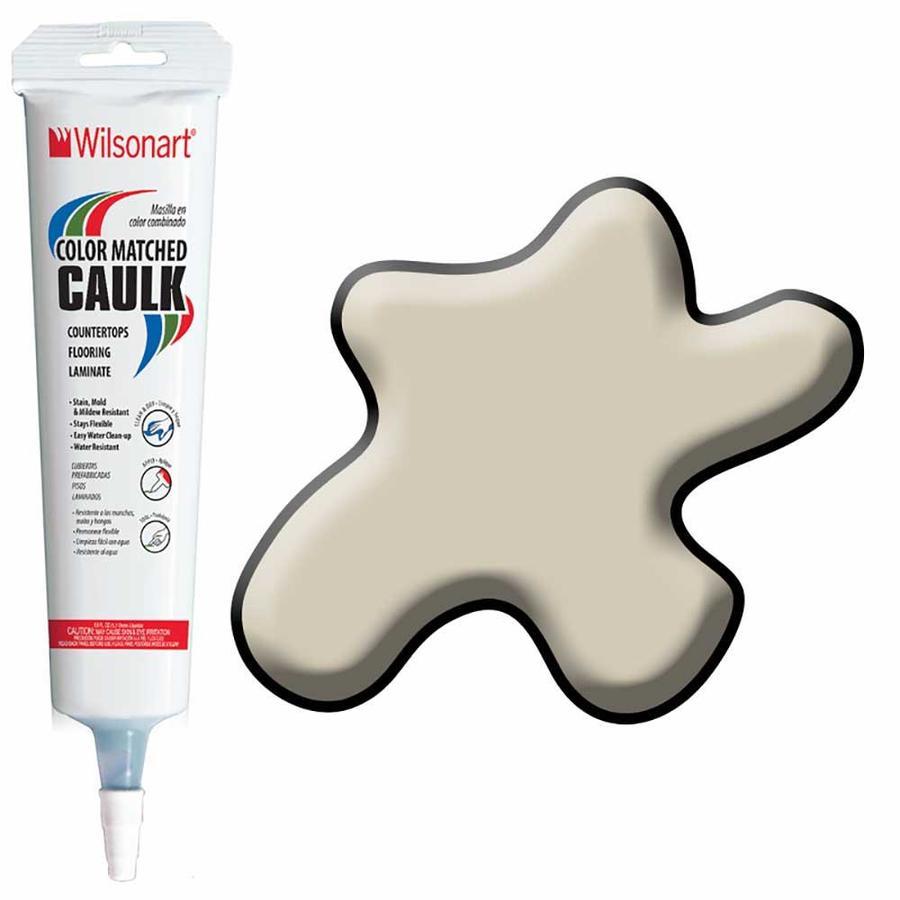 Wilsonart 5-oz Sandy Topaz Paintable Siliconized Acrylic Kitchen and Bathroom Caulk