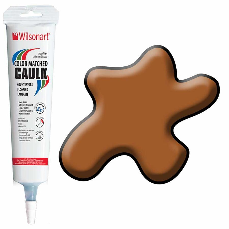 Wilsonart 5-oz Windsor Mahogany Paintable Siliconized Acrylic Kitchen and Bathroom Caulk