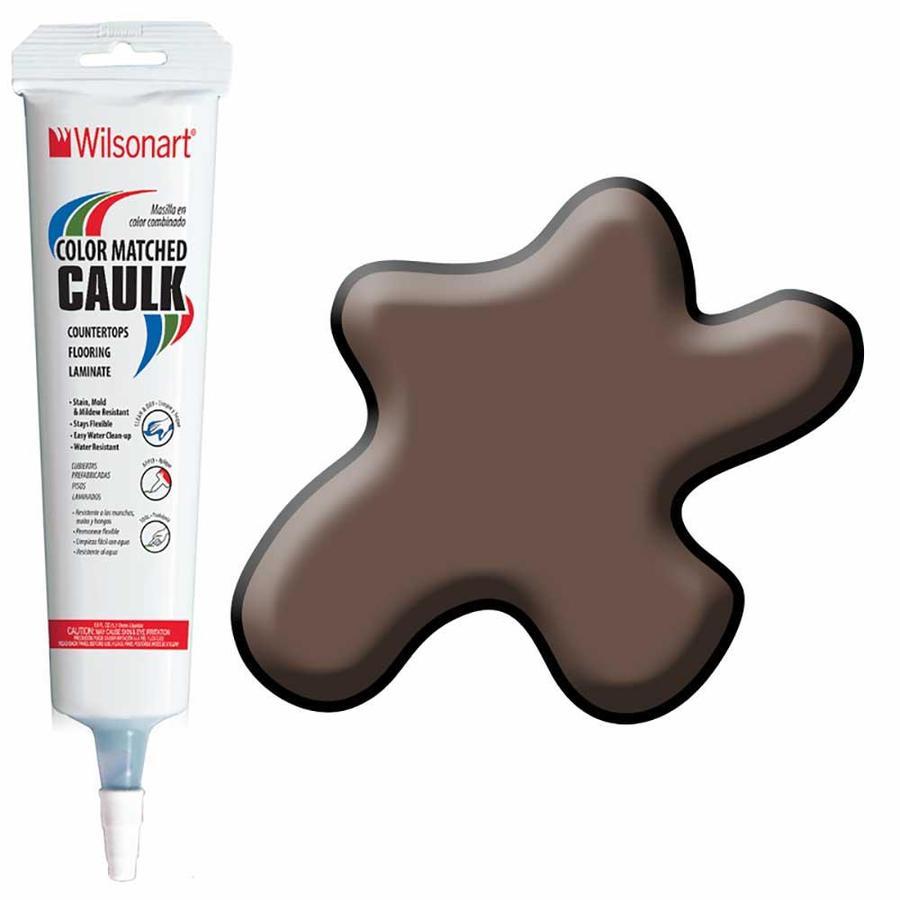 Wilsonart 5-oz Figured Mahogany Paintable Siliconized Acrylic Kitchen and Bathroom Caulk