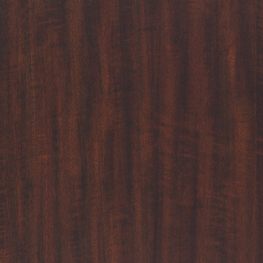 Wilsonart 48-in x 96-in Kenya Mahogany Laminate Kitchen Countertop Sheet