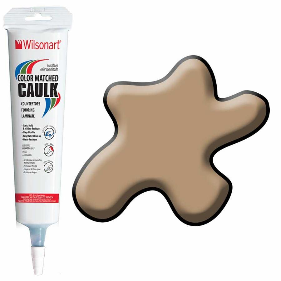 Wilsonart 5-oz Harvest Maple Paintable Siliconized Acrylic Kitchen and Bathroom Caulk