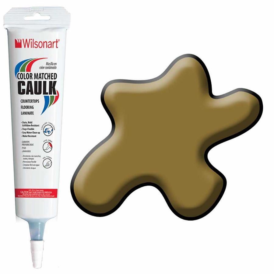 Wilsonart -Pack 5-oz Studio Teak  Paintable Caulk