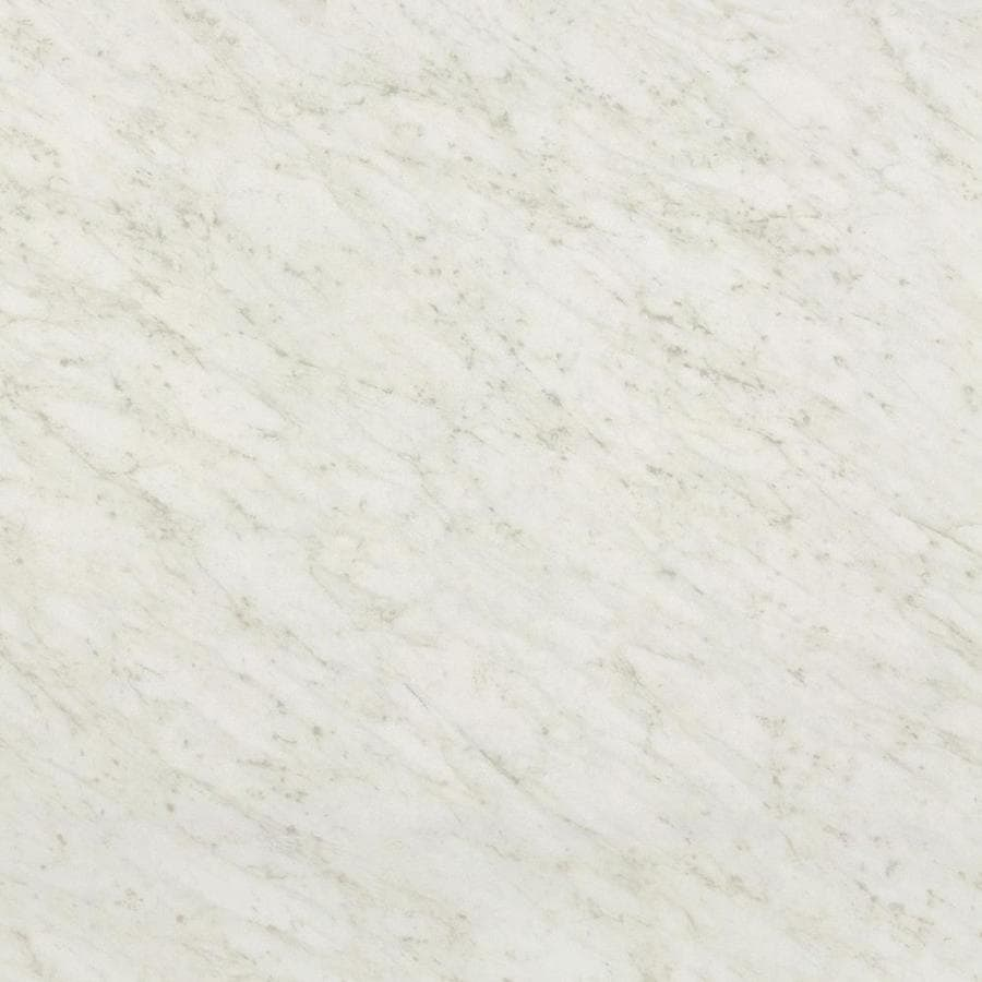 Wilsonart Standard 36-in x 96-in White Carrara Laminate Kitchen Countertop Sheet