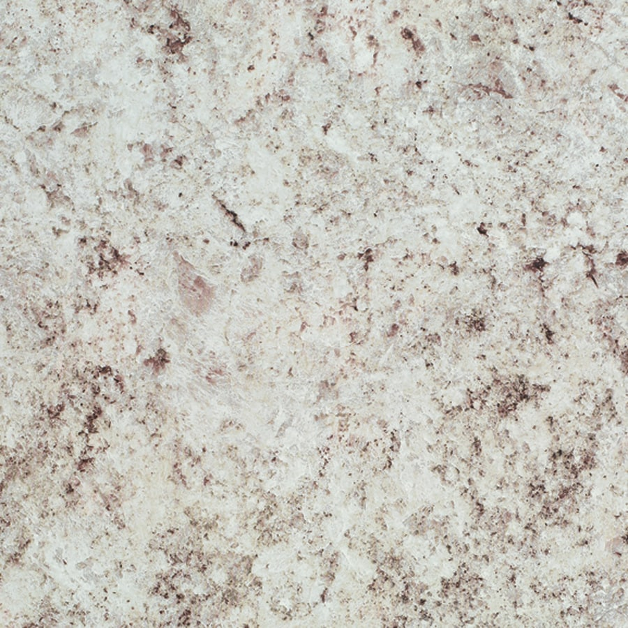 Wilsonart White Juparana Fine Velvet Texture Laminate Kitchen Countertop Sample