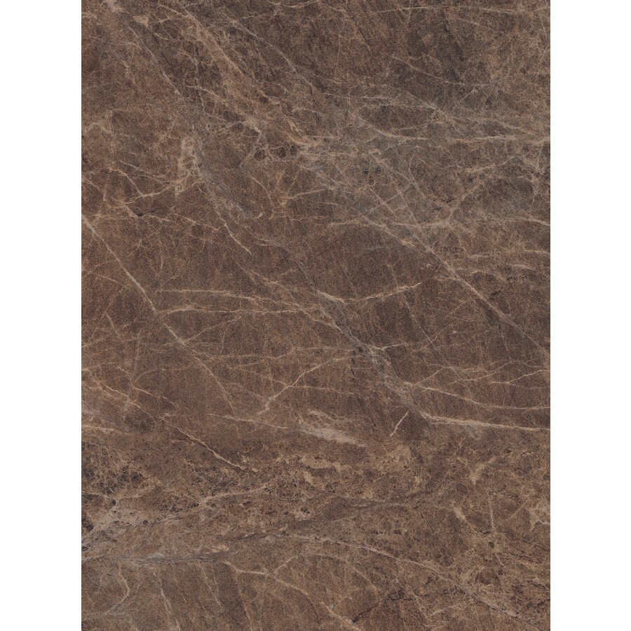Wilsonart 48-in x 96-in Chocolate Brown Granite Antique Laminate Kitchen Countertop Sheet
