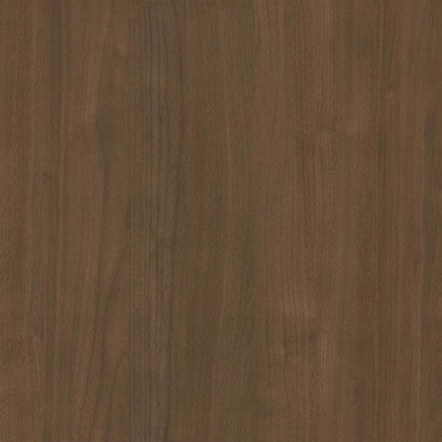 Wilsonart 48-in x 144-in Pinnacle Walnut Fine Velvet Texture Laminate Kitchen Countertop Sheet