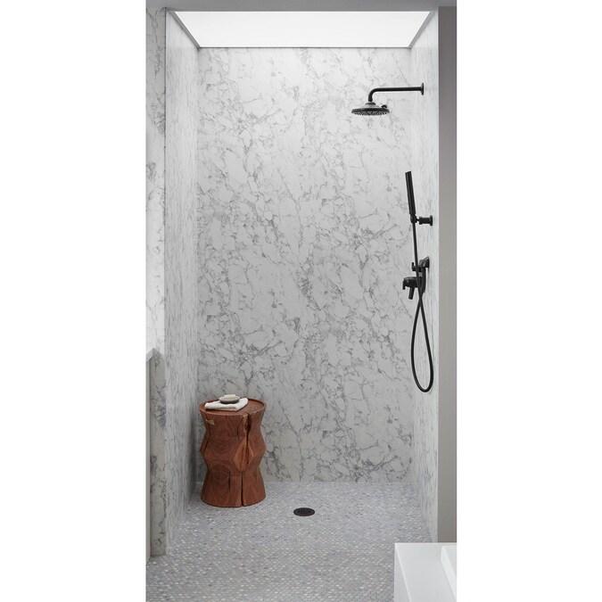 wilsonart 30 in x 72 in bathtub wall panel kit in