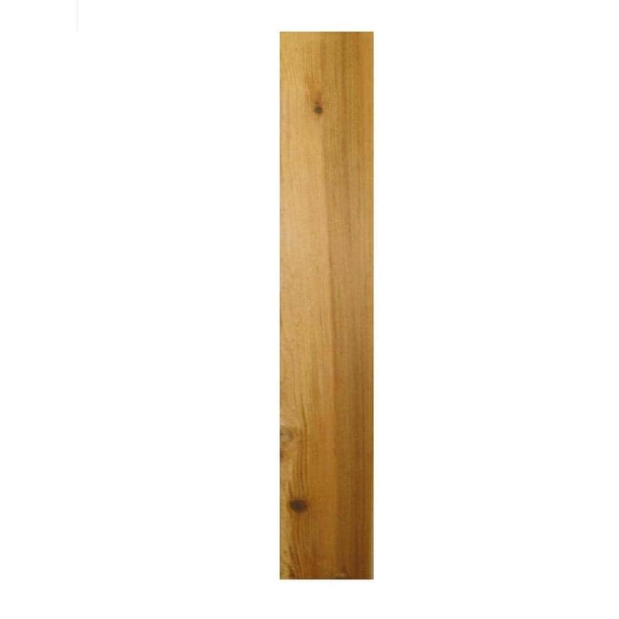 Severe Weather (Common: 1-in x 6-in; Actual: 0.75-in x 5.5-in) Western Red Cedar Fence Picket